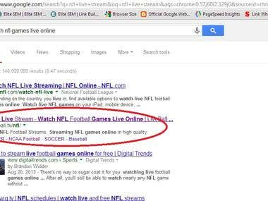 Google Top Page Rank