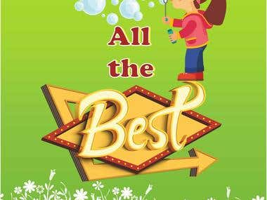 Best of Luck Card
