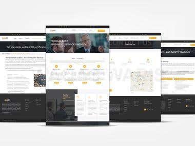 Website development for a Professional Training Institute