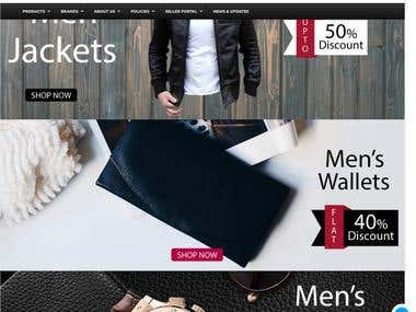 Development of E Commerce Store
