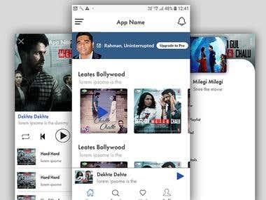 Music app like wink