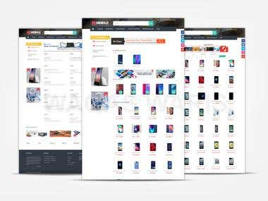 Online Store for Mobiles