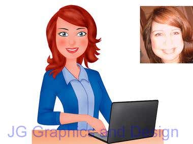 Cartoon version of you