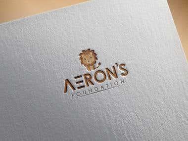 Aeron's Foundation Logo