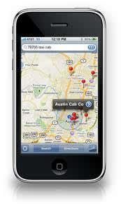 taxi location finder