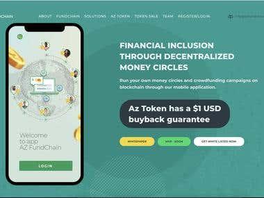 AZ Fundchain - Blockchain Startup - ICO
