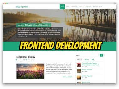 FrontEnd Development