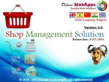 Shop Management Solution