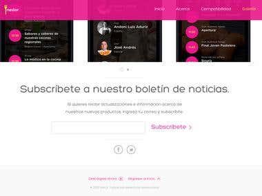 Tnedor Mistura Website