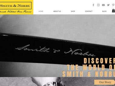 eCommerce Website Design & Development for Spectacle Company