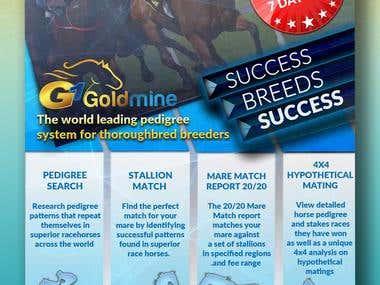 A5 Flyer for G1goldmine v1