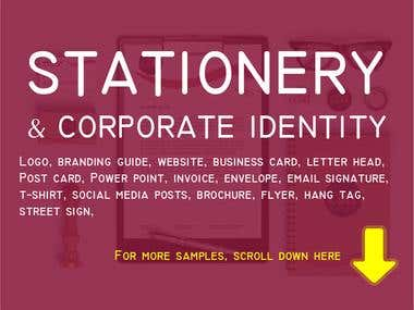 STATIONERY & CORPORATE IDENTITY