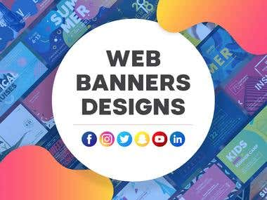 I Will Design A Cool And Professional Banner, Ad, Cover,