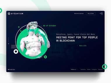 Byzantium TOP10 Corporate Website