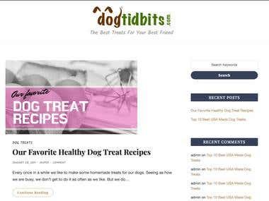 Dogtidbits.com - Wordpress