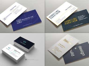 Handmade Business Card Designs