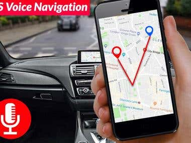 Find Car Parking Place: Google Maps and GPS