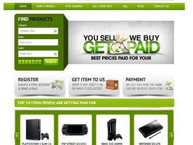 GetPaid.co.uk --  An eCommerce website