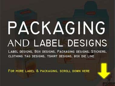PACKAGING AND LABLE DESIGNS