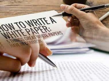 ICO / STO Whitepaper Writer, Blog writing, content writing