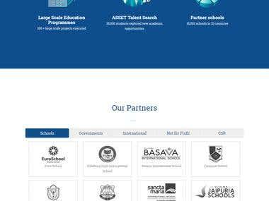 LARAVEL (PHP ) website