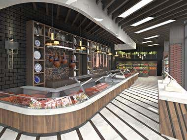 Shop Design | Butcher