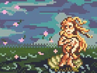 muckup Pixel Art
