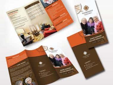 Brochure, Flyer, Poster Design