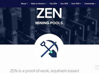 Mining Pool Development