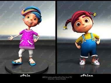 Arina Animation Series