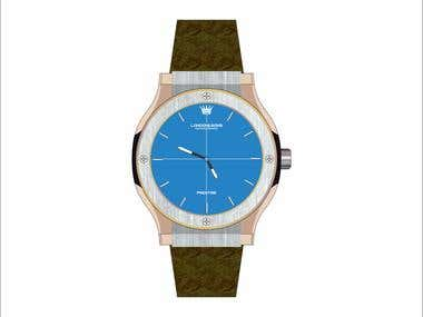 Wrist Watch Brand New Design