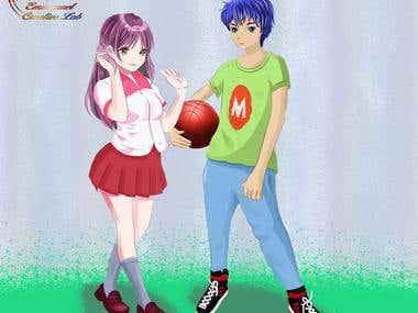 Manga Characters