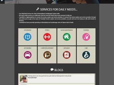 Web User Interface Design for the Jayatma Informatics