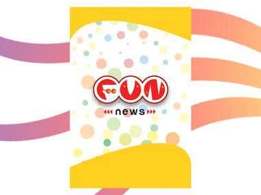 Mobile Application Design for Fun News