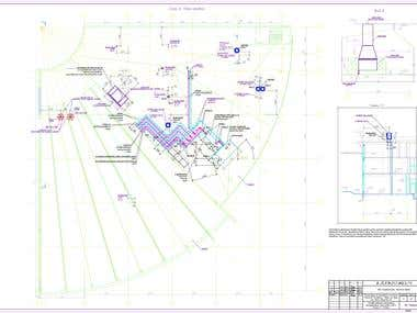 Sections drawings