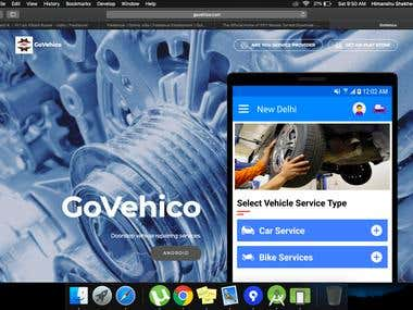 GoVehico Website