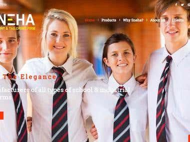 Website Sneha Garments