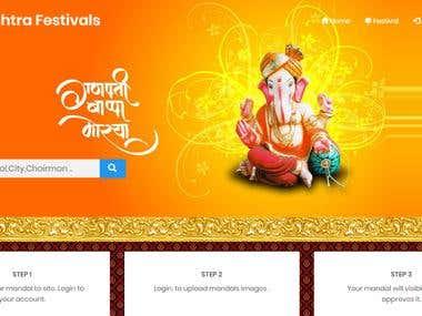 Festival Classified Website