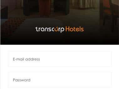 Transcorp Hotels Booking App