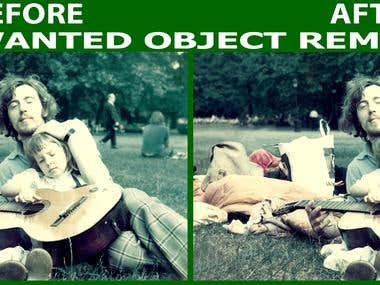 Unwanted Object Remove from Photos & Photo editing.