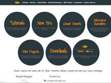 Responsive Website complete development