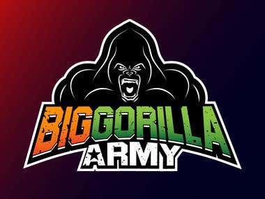 BigGorilla Army Logo proposal
