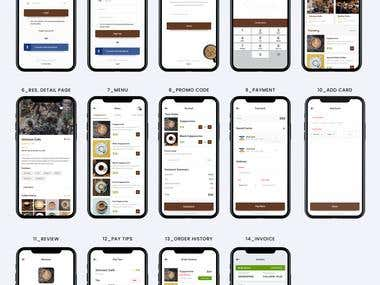 Cafe App with Coffee Service