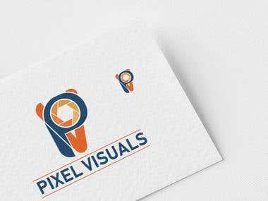 pixel virtual logo