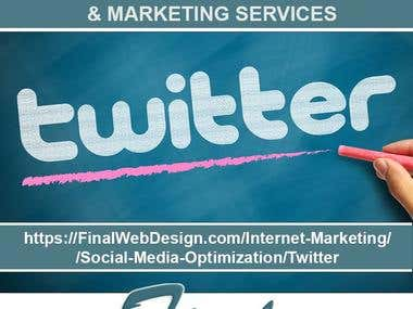 Twitter Markting Expert