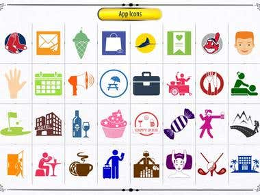 App Icons, Icons & Silhouettes