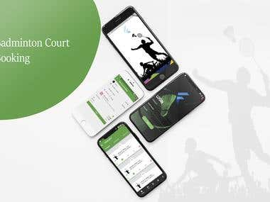 Badminton Court Booking