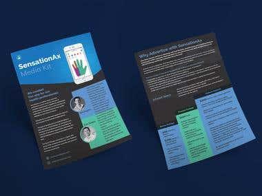 Flyer Design for a medical app