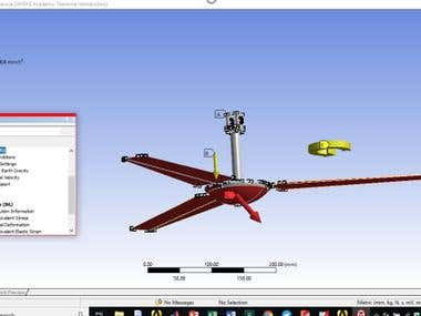 Ansys Ceiling Fan Failure Analysis