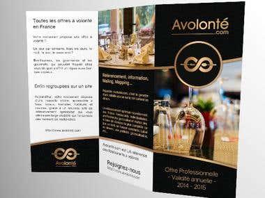 Avolonté.com Brochure
